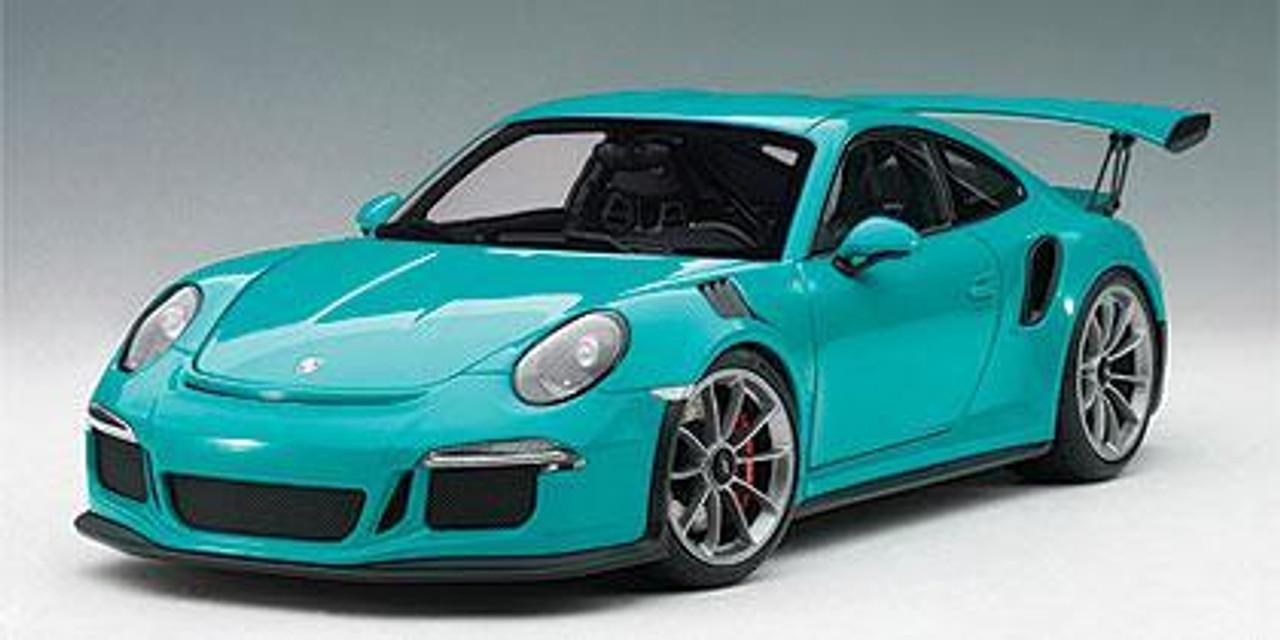 78167 Porsche 911 GT3 RS Miami Blue