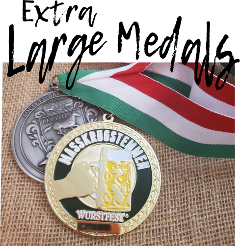 Extra Large Medals
