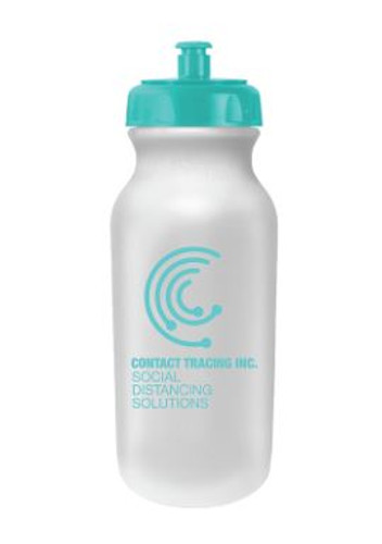 20 Oz. Antimicrobial Value Cycle Bottle w/ Push 'n Pull Cap