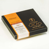 Arriba Orange 70% Dark Cacao Bar - Heirloom Certified