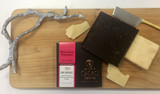 Chocolate and Cheese Pairing: Millcreek Cacao Roasters 70% Arriba with Himalayan Pink Sea Salt  and Beehive Cheese  Seahive
