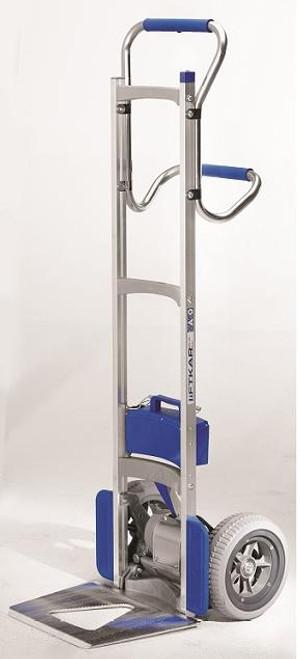 Wesco Liftkar Uni Motorized Stairclimber Hand Truck (375 lb. Capacity Flat Free Wheels) - Wesco 274162