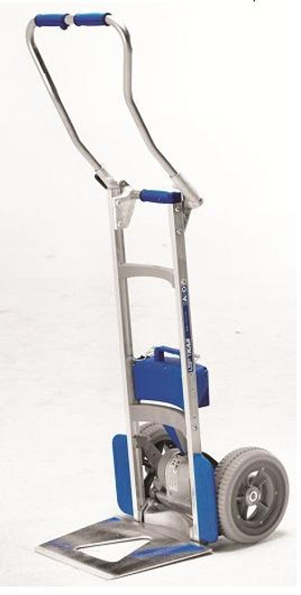 Wesco Liftkar SAL Fold Handle Motorized Stair Climbing Hand Truck (375 lb. Capacity Flat Free Wheels) - Wesco 274161