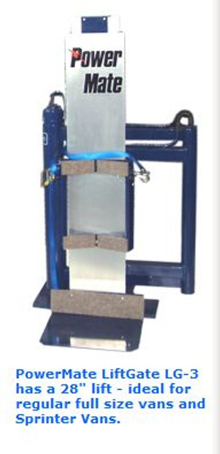 Powermate Liftgate In-Vehicle Lift (40 Inches) - Powermate LG-6