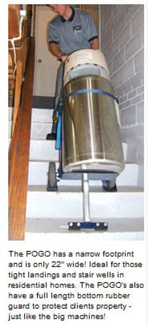 Light Duty Motorized Stair Climbing Hand Truck-Powermate Pogo-2 - Powermate 470012