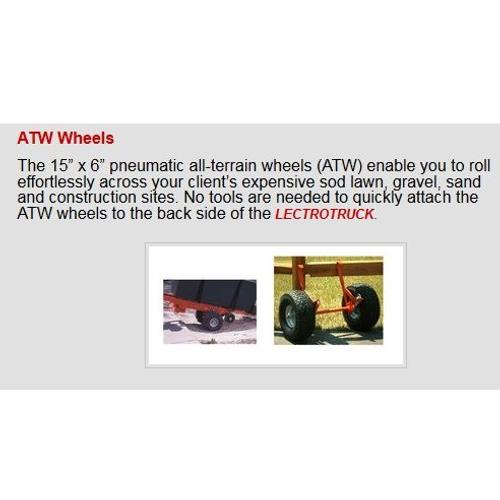 "Lectro Truck Capacity 1500lb 63"" (Steel) - 1260E"