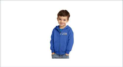 Staff Toddler Zip Hoodie