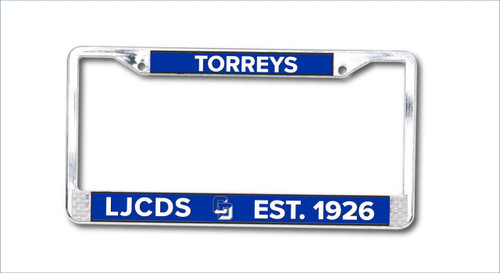 Staff License Plate Frame