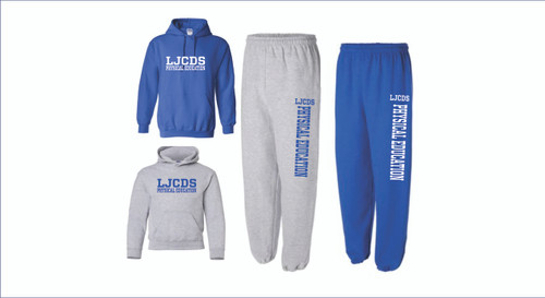 PE SWEATPANTS AND SWEATSHIRTS