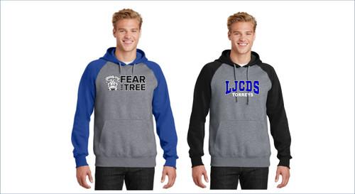 Sport-Tek® Raglan Colorblock Pullover Hooded Sweatshirt