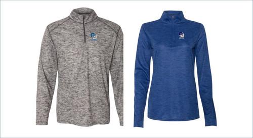 Badger - Tonal Blend Quarter-Zip Pullover Men's or Women's