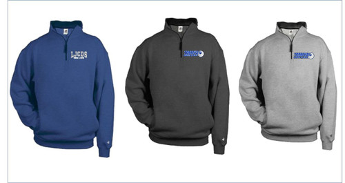 Swim & Dive Badger - 1/4 Zip Fleece Pullover