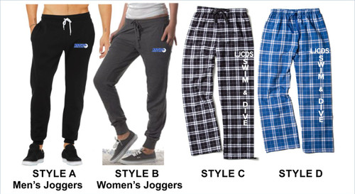 Swim & Dive Joggers & Plaid Pants