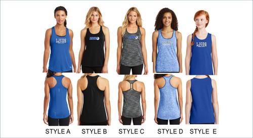 Swim & Dive Women's/Girl's tank tops