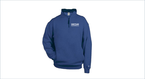 Baseball Badger - 1/4 Zip Fleece Pullover
