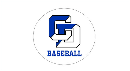 Baseball Window Decal/Sticker