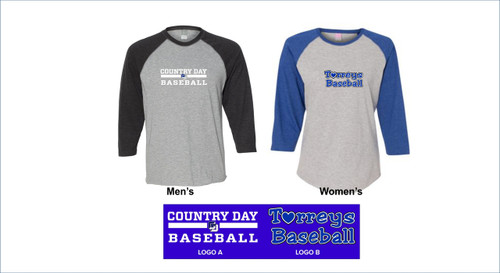 Baseball - LAT 3/4 Sleeve Fine Jersey Tee