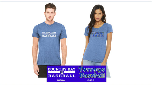 Baseball - Bella+Canvas ® Triblend Short Sleeve Tee
