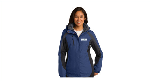 Baseball Port Authority® Ladies Colorblock 3-in-1 Jacket