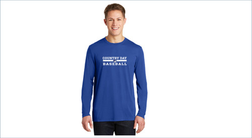 Baseball Long Sleeve Performance Tee