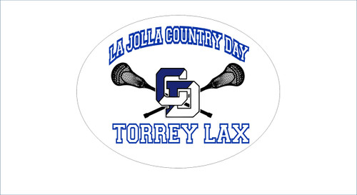US Lacrosse Car Decals/Sticker