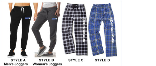 Waterpolo Joggers & Plaid Pants