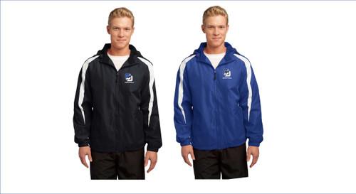Men's Basketball -Sport-Tek® Fleece-Lined Colorblock Jacket