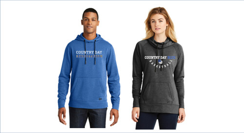 Men's Basketball New Era®  Tri-Blend Fleece Full-Zip and Pullover Hoodies Men's & Women's