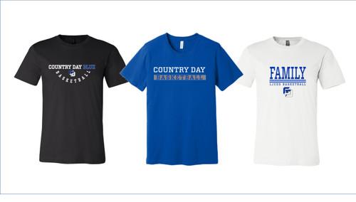 Men's Basketball T-shirts - Bella + Canvas -Men's