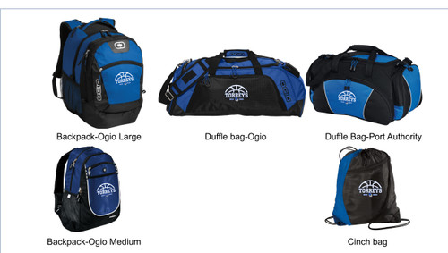 LJCDS Women's Basketball Bags
