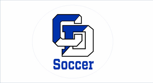 LJCDS Soccer Car Decal/Sticker