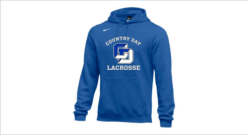 Men's Lacrosse Nike Team Club Fleece Hoodie