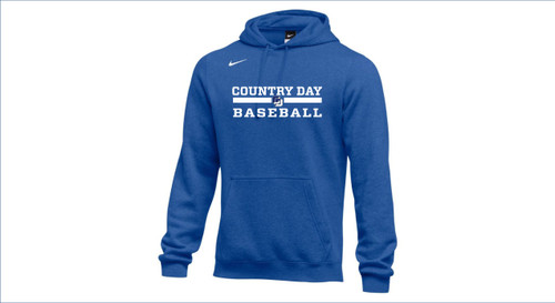 Baseball Nike Team Club Fleece Hoodie