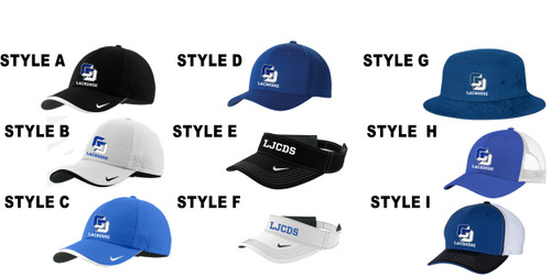 Lacrosse Embroidered Caps and Visors