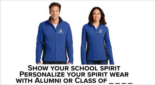 Alumni Port Authority® Colorblock Fleece Jacket
