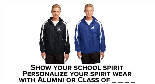 Alumni Sport-Tek® Fleece-Lined Colorblock Jacket