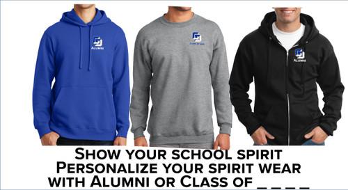 Alumni Printed Sweatshirt