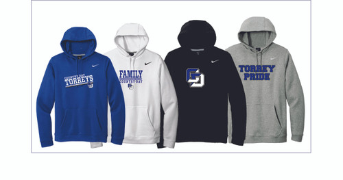 Booster Club Nike Club Fleece Pullover Hoodie