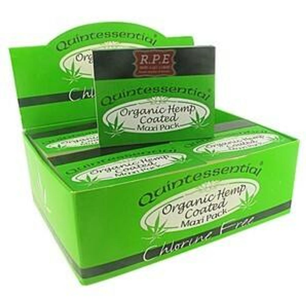 Quintessential Quintessential Organic Hemp Coated Smoking Tips - Maxi Pack