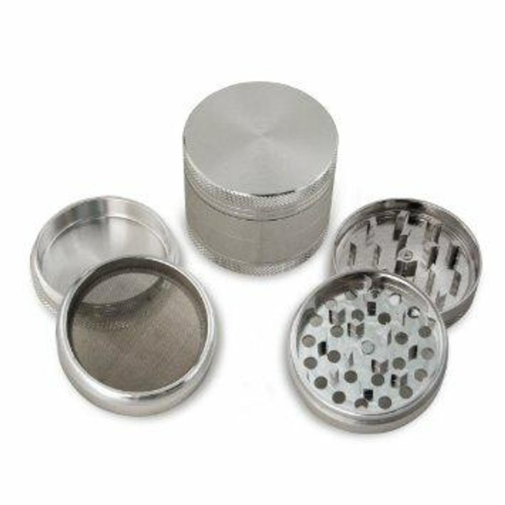 ForbiddenFruitz Aluminium 4 Part Herb Grinder 50mm