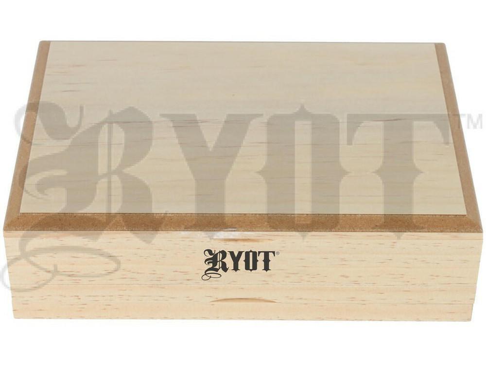 RYOT Shaker Box 4x7 Solid Top Natural Finish