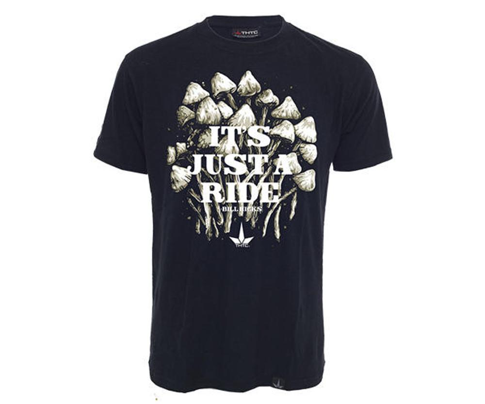 THTC Clothing Co THTC Clothing JUST A RIDE Bill Hicks Organic T-Shirt