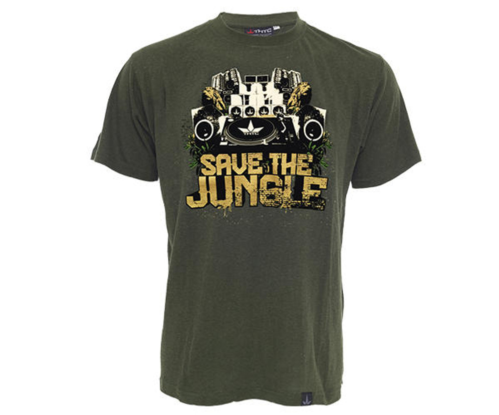 THTC Clothing Co THTC Clothing SAVE THE JUNGLE Organic T-Shirt