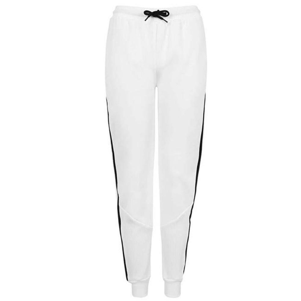 Peruvian Flake Clothing Peruvian Flake Stripe Tracksuit Pants - White