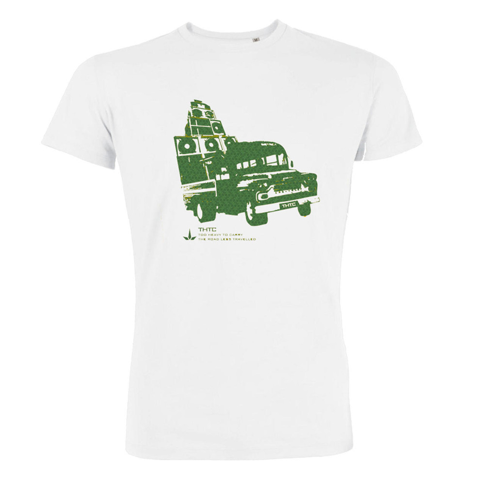 THTC Clothing Co THTC Clothing Too Heavy To Carry Organic T-Shirt White