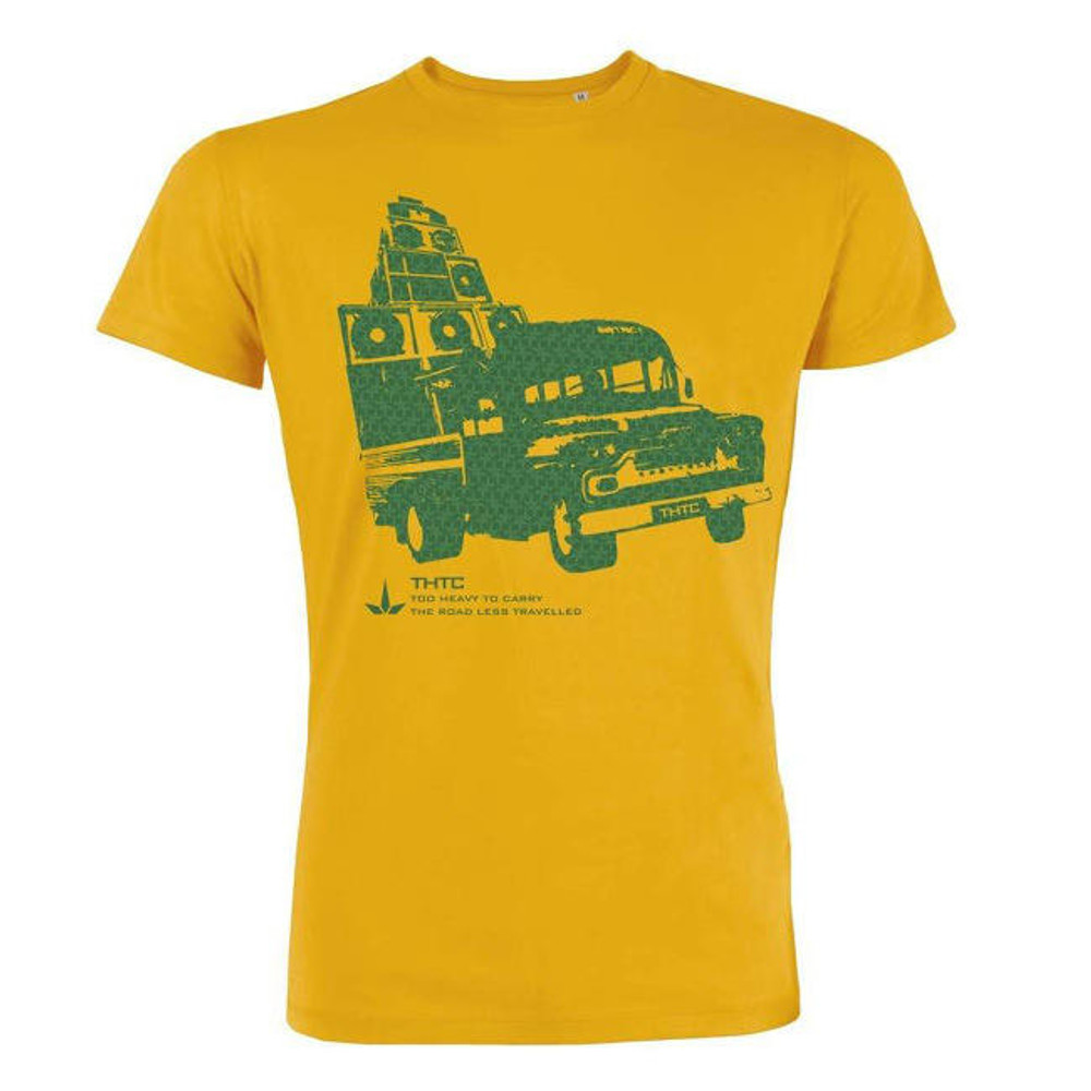 THTC Clothing Co THTC Clothing Too Heavy To Carry Organic T-Shirt Yellow
