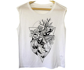 THTC Clothing Co THTC Clothing LOVE YOUR ROOTS Organic T-Shirt Womens