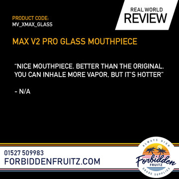 XMAX XMAX V2 Pro Glass Mouthpiece