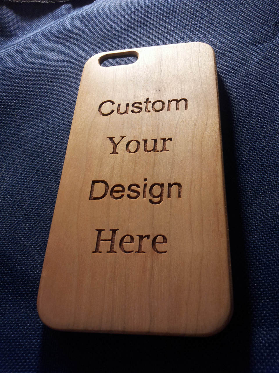 finest selection 6c808 fd781 Laser Engraved Wooden Phone Case Personalised Gift - iPhone 5 5s 6 7 plus  Samsung s5 s6