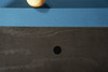 Nora Slate Pool Table in Charcoal